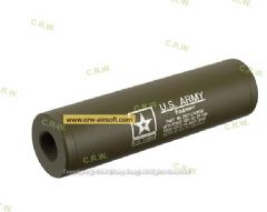 Spartan Doctrine 110x30mm US Army Silencer (14mm CW/CCW, Tan)